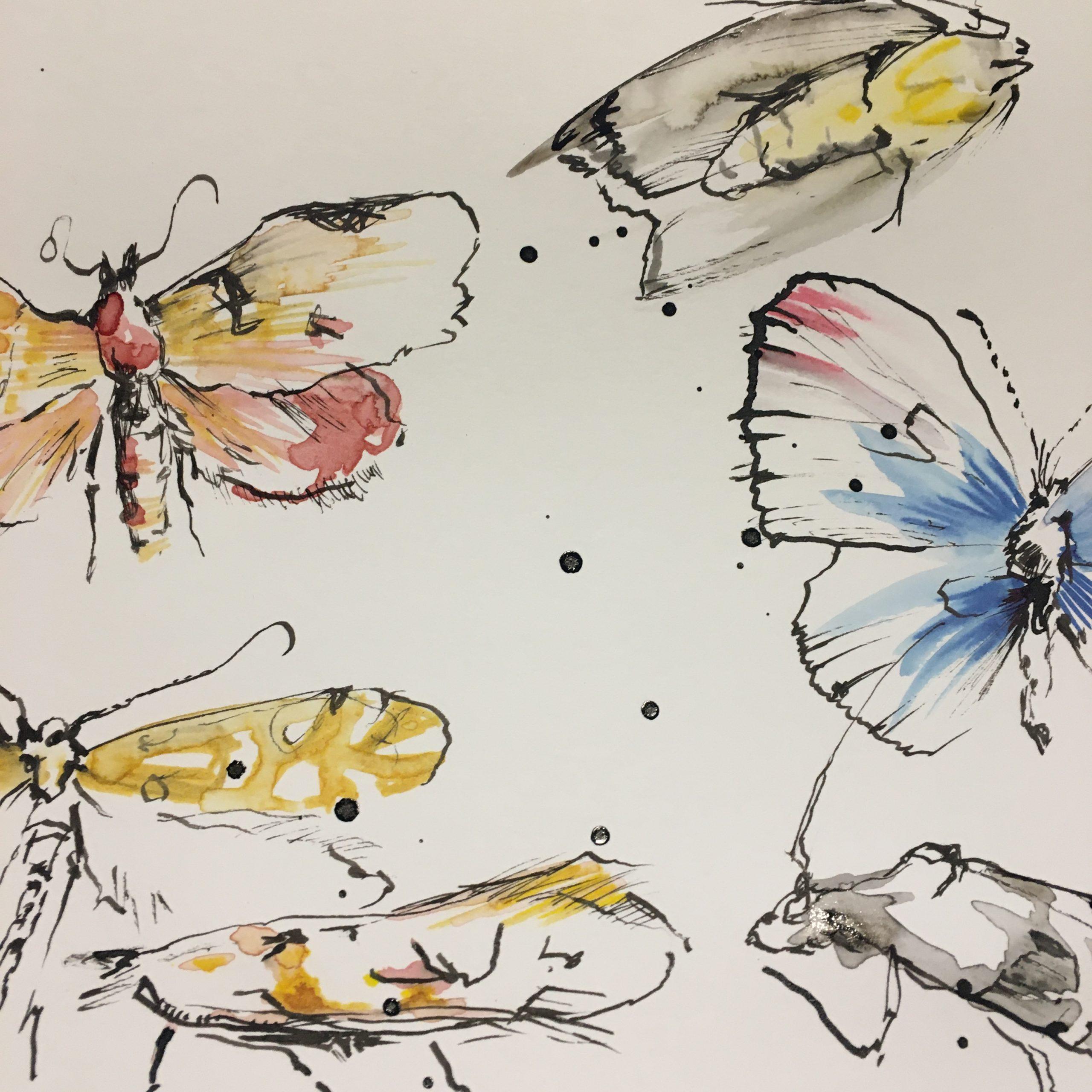 Uhanalaisia perhosia
